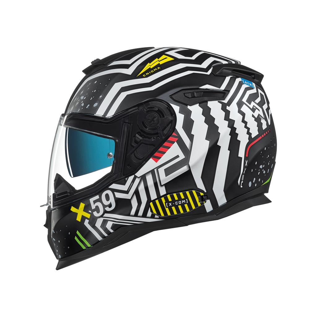 Casco de moto NEXX SX100 Toxic Purpura MT